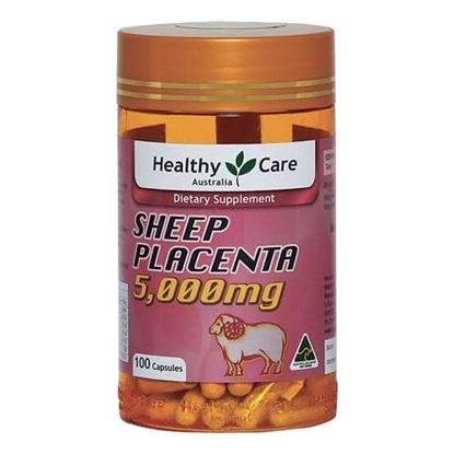 Viên Uống Nhau Thai Cừu Sheep Placenta 5,000mg