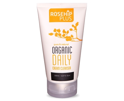 Sữa Rửa Mặt Hữu Cơ Dạng Kem Rosehip Plus