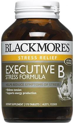 Viên Uống Giảm Stress Blackmore Executive B Stress Formula