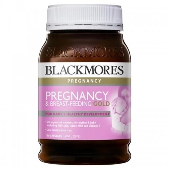 Vitamin Cho Mẹ Bầu và Cho Con Bú Pregnancy & Breast Feeding Gold