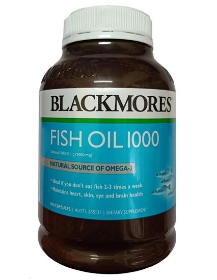 Dầu Cá Omega-3- Fish Oil 1000mg - Blackmores