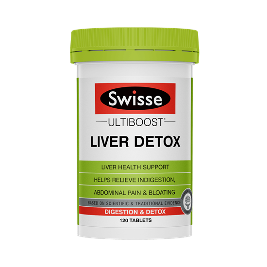 Swisse Liver Detox Úc Bổ Gan Thải Độc Gan