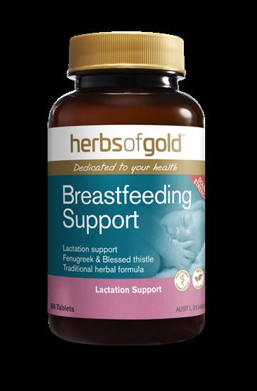 Viên Uống Lợi Sữa Úc Herbs of Gold Breastfeeding Support
