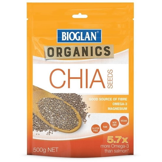 Hạt Chia (chia seed) Bioglan Cao Cấp Của Úc
