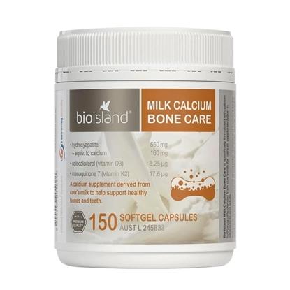 Biolsland Milk Calcium Canxi Hữu Cơ Dành Cho Người Lớn, Người Già, Thai Sản