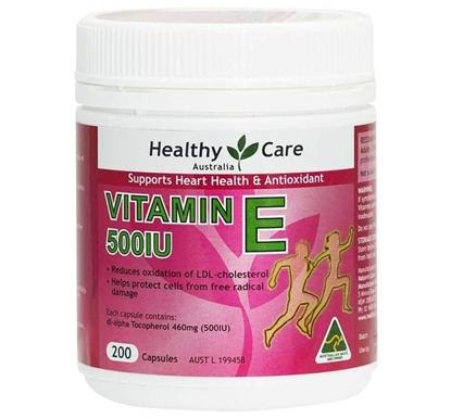VITAMIN E 500IU Thần Dược Cho Làn Da Không Tuổi