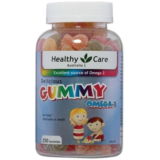 Kẹo Dẻo Gummy Omega 3 Dành Cho Trẻ Từ 2 Tuổi Trở Lên