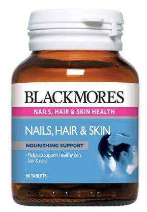 Viên Uống Đẹp Da - Tóc - Móng BLackmores Nail, Hair and Skin