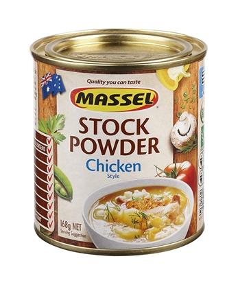 Hạt Nêm Không Bột Ngọt Massel Stock Powder Vị Gà