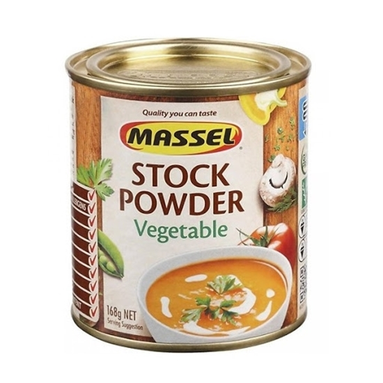 Hạt Nêm Không Bột Ngọt Massel Stock Powder Vị Rau Củ