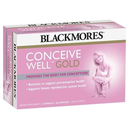 Thuốc Tăng Khả Năng Thụ Thai Blackmores Conceive Well Gold
