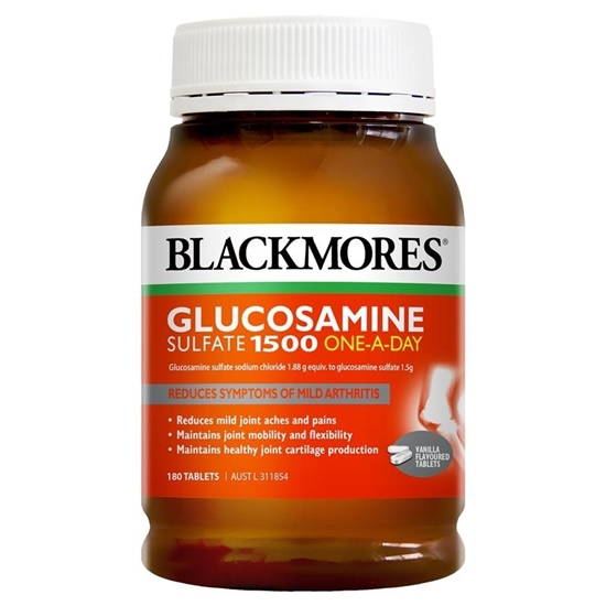 Trị Thái Hóa Viêm Xương Khớp Blackmores Glucosamine Sulfate 1500