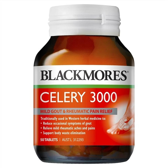 Viên Uống Hỗ Trợ Điều Trị và Phòng Ngừa Bệnh Gout Blackmores Celery 3000