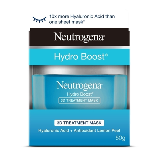 Mặt Nạ Ngủ Trị Liệu Neutrogena Hydro Boost 3D Treatment Mask Cream