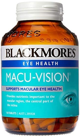 Viên Uống Bổ Mắt Blackmores Macu-Vision Chính Hãng Của Úc 150 viên