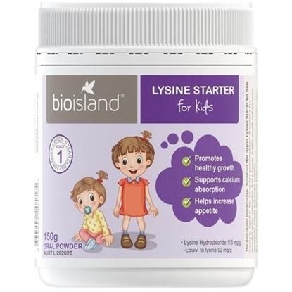 Bio Island Lysine Starter Của Úc Tăng Chiều Cao Kích Thích Ăn Ngon Dạng Bột