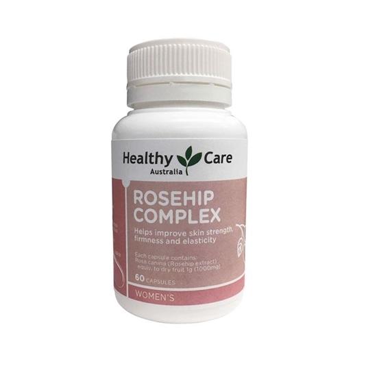 Viên Uống Giúp Cải Thiện Độ Săn Chắc Cho Da Roseship Complex 60 Viên